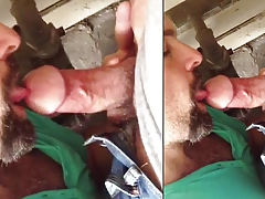 Gay-for-pay Married Fellows Caught Deep-throating Cock (Part 1)