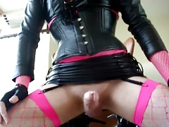 Cumpilation of Nathalie Leather