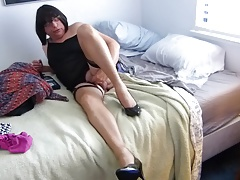 Displaying off  Nylons and Milking