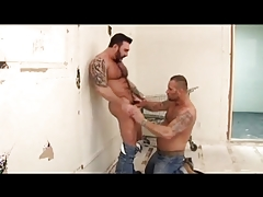 Hairy Musclebears Inhale and Pulverize