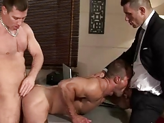 Threeway in the office