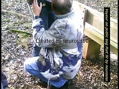 Hidden cam on public bog Part IV by neurosiss
