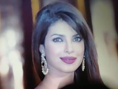 Mind-blowing face of Priyanka Chopra cummed!!!