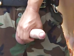 Army policeman plows youthfull stud