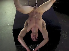 Domination & submission  athletically victim boy nailed fake penis schwule jungs