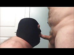 Furry Hunk Gulps Tough Married Hunk Jism