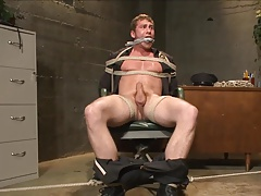 Domination & submission - Officer Maguire gets edged.