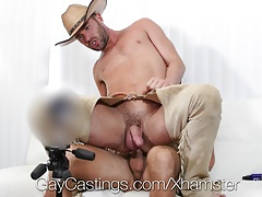 GayCastings - Suspended Alex Mason Banged at Porno Casting