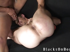 Mature fellow  to say no for ebony jizz-shotguns