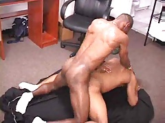 Ebony Office Orgy