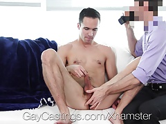 GayCastings - Max Forest Fucked in  Porno