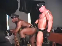 Muscular Cops Multiracial
