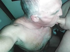 OLD  Guy Fellates TWINK'S  DICK!