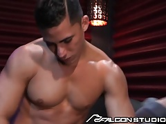 FalconStudios Ryan Rose Wedged by Stripper