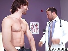 HotHouse Torrid Doctor Buttfucked by Aussie Hairy man
