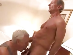 2 mature faggot grandpa sucking each other