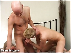 cockteaser gets his  plowed by old guy