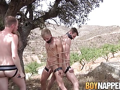 Sean Taylor screws his marionettes Reece Bentley and Chris Jansen