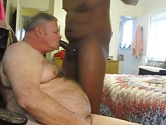 Years Eve Big black cock down my facehole