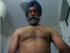 Indian Father Masturbates Off & Spunks