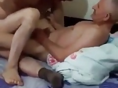 Gorgeous turkish daddies - Turkish Three-way Dual Penetratio