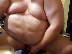 Chub father munches his cum