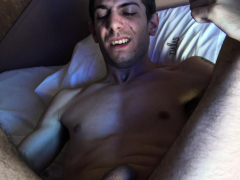 LatinLeche - Uncircumcised Latino Pulverizes A  Guy's Cherry Culo