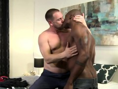 Osiris enjoys banging horny shine Hans in doggy