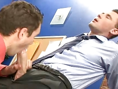 Queer Office Fuck-fest with Monster Meat