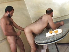 Brasilian Obese Grizzly Taking Rigid Cock Deep Inwards