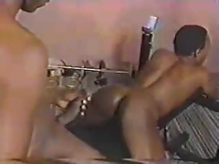 Bbc smashes willing Ebony bum