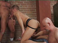 3some -  muscles parent ravage a man