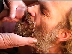 older mens blow bear. all jizz in  or face