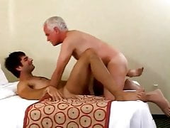 Hot young guy prevalent grandpa